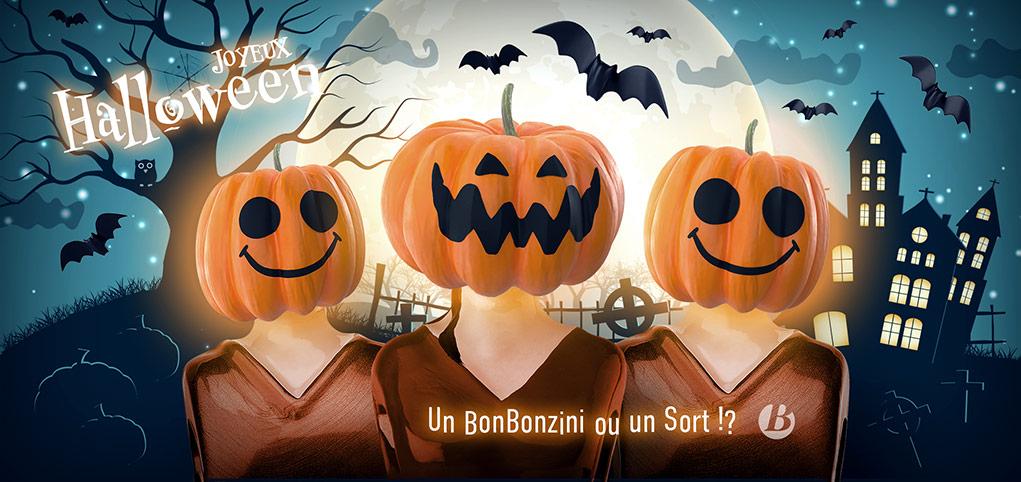 Babyfoot Bonzini - Joyeux Halloween !